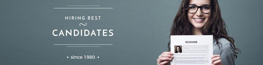 hiring best candidates poster — Maak een ontwerp