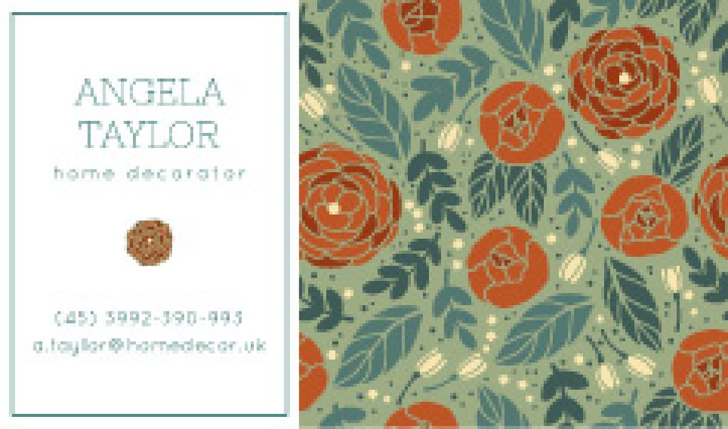 Decorator Contacts Roses Pattern — Create a Design