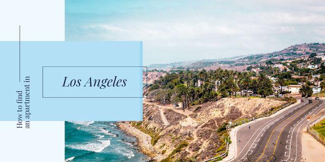 Plantilla de diseño de Los Angeles city Image