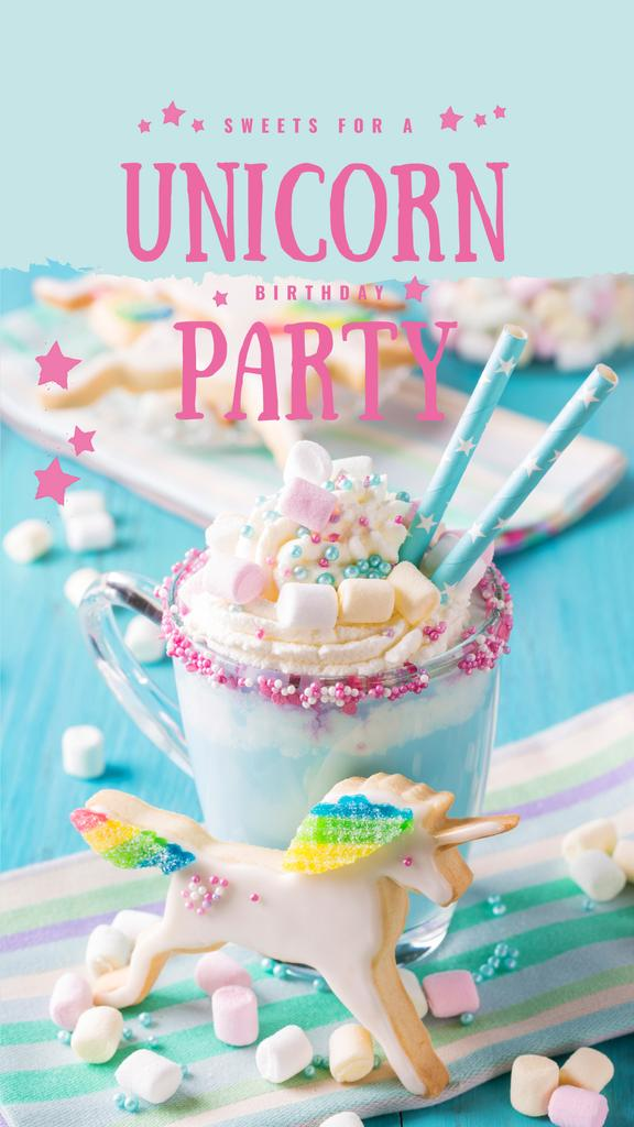 Sweet monster shake for party — Modelo de projeto