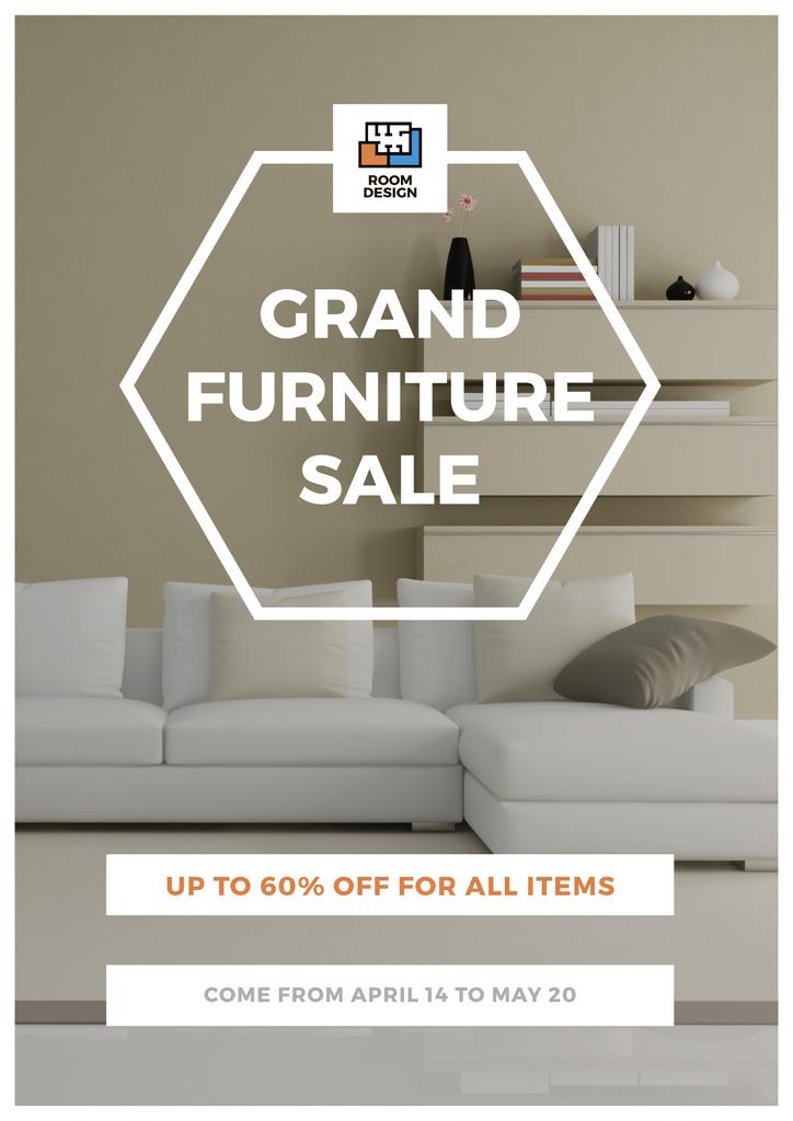 Grand furniture sale poster — Create a Design