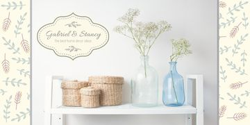 Home decor shop advertisement