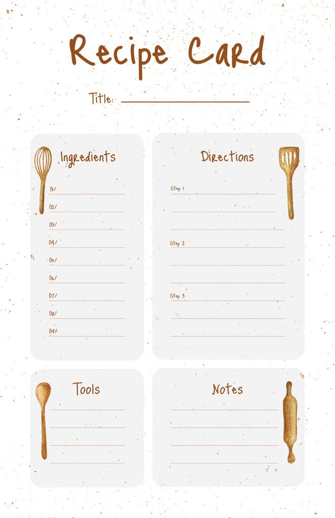 Illustration of Kitchen Tools — Создать дизайн