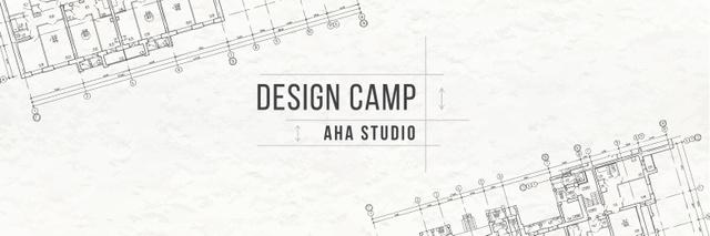 Design camp in London Twitter Šablona návrhu