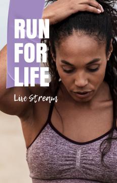 Female Runner live stream