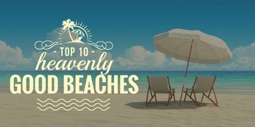 top 10 heavenly good beaches poster