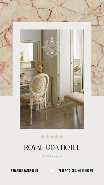 Hotel Offer Cozy Room Interior Instagram Video Story – шаблон для дизайна