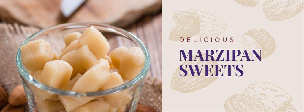 Marzipan sweets offer — Создать дизайн