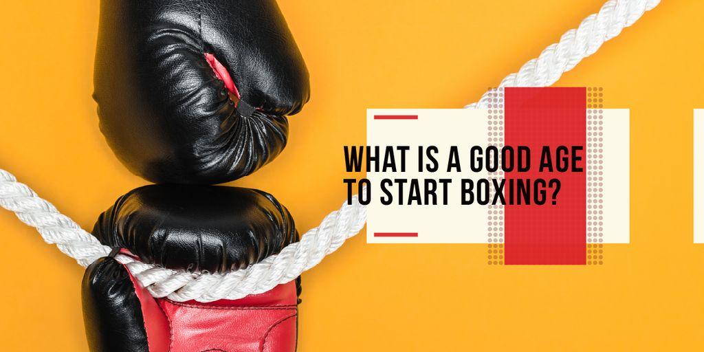 Boxing Guide Gloves in Red — ein Design erstellen