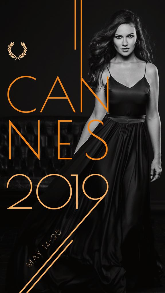 Cannes Film Festival poster — Maak een ontwerp