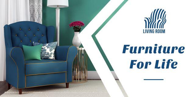 Plantilla de diseño de Furniture for life advertisement Image