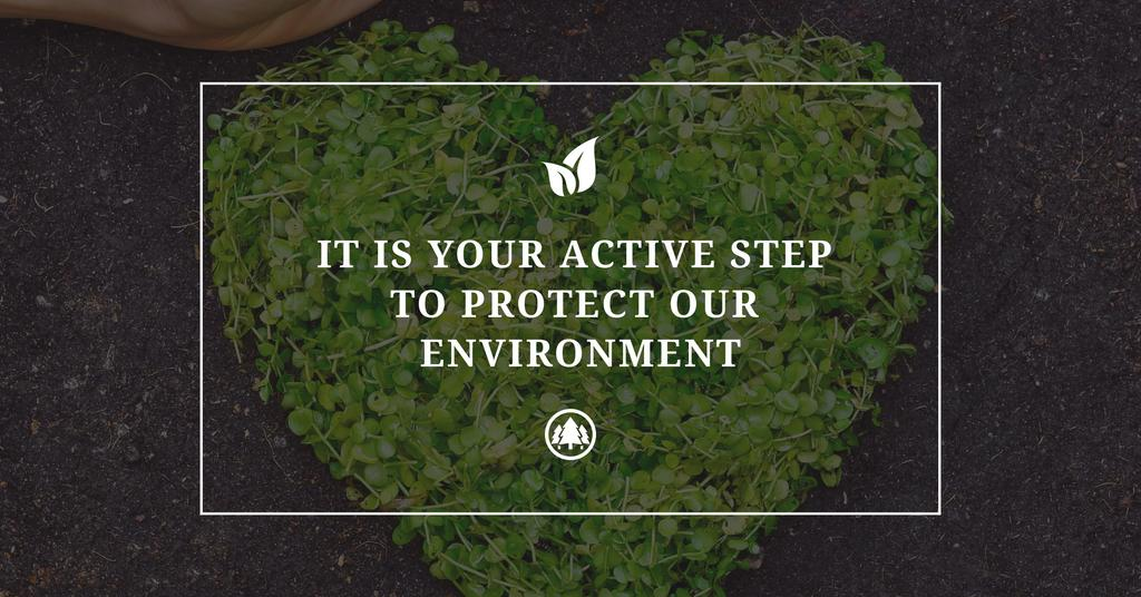 Citation about protect environment — Crear un diseño
