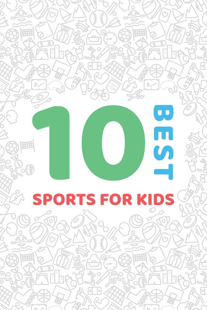 Best sports for kids — Create a Design