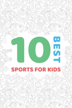 Best sports for kids poster