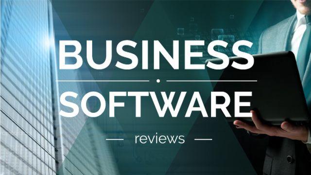 Business Software reviews guide Title – шаблон для дизайна