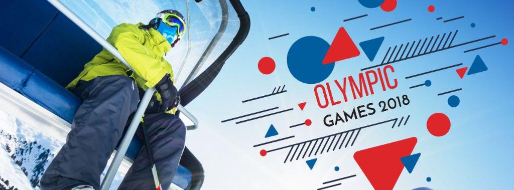 Winter Olympics Annoucement — Создать дизайн