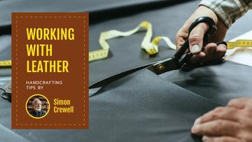 Craft Tips Tailor Working with Textile