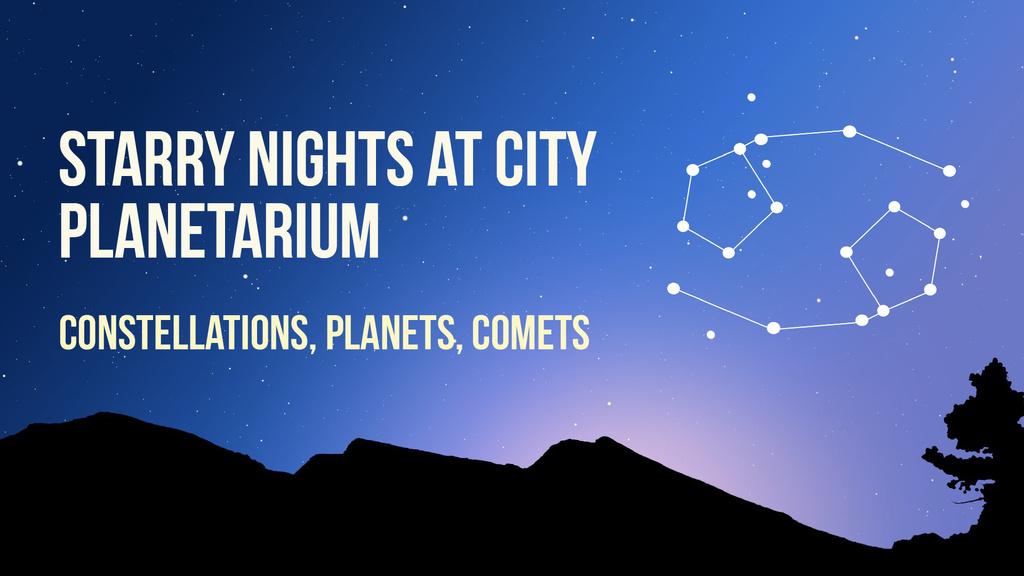 Night sky with Cancer constellation — Crear un diseño