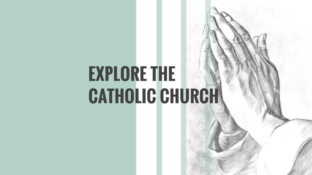 Invitation to Catholic Church — Создать дизайн