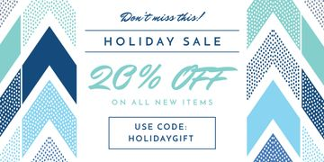 Holiday sale advertisement