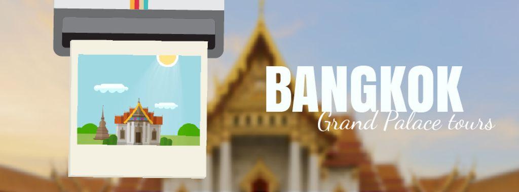 Visit Famous authentic Bangkok — Créer un visuel