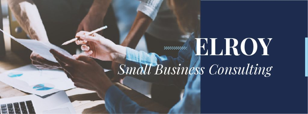 Small business consulting services — Создать дизайн