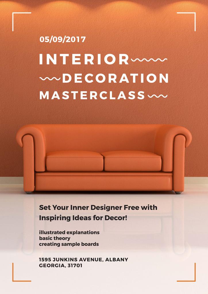 Interior decoration masterclass — Créer un visuel