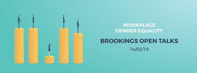 Plantilla de diseño de Gender inequality on earnings Facebook Video cover