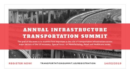 Ontwerpsjabloon van Title van Annual infrastructure transportation summit