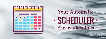 Schedule calendar icon