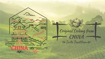 Tour Invitation China Famous Travelling Spots | Full Hd Video Template