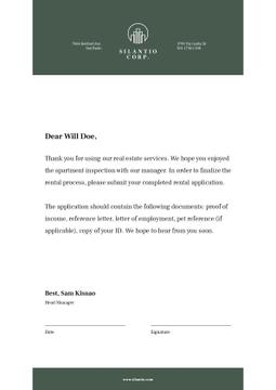 Real Estate company official response