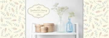 Home Decor Advertisement Vases and Baskets | Tumblr Banner Template