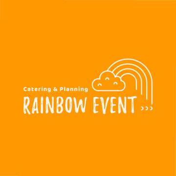 Event Agency Cloud and Rainbow | Logo Template