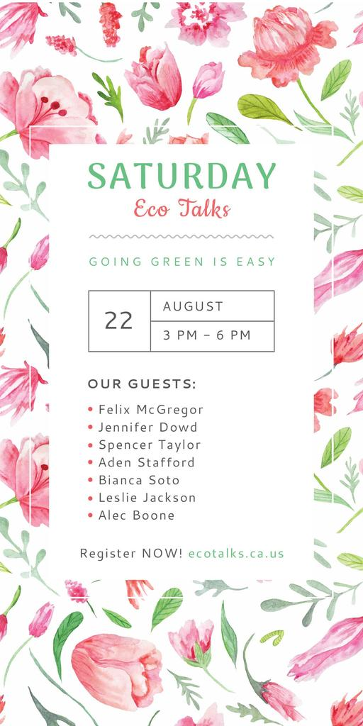 Saturday eco talks  — Maak een ontwerp