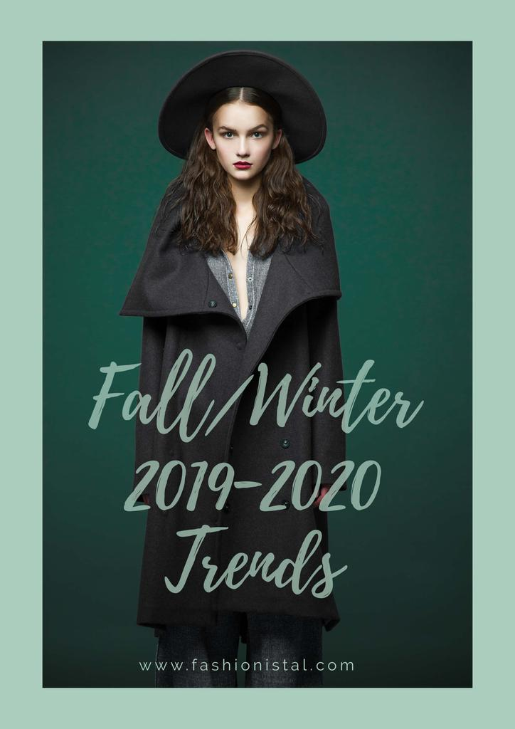 Fashion fall collection ad — ein Design erstellen