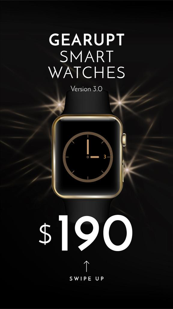 Luxury smart Watches Offer — Create a Design
