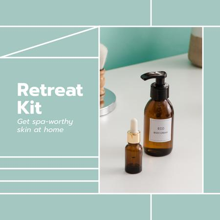 Template di design Retreat Spa Kit Offer Instagram AD