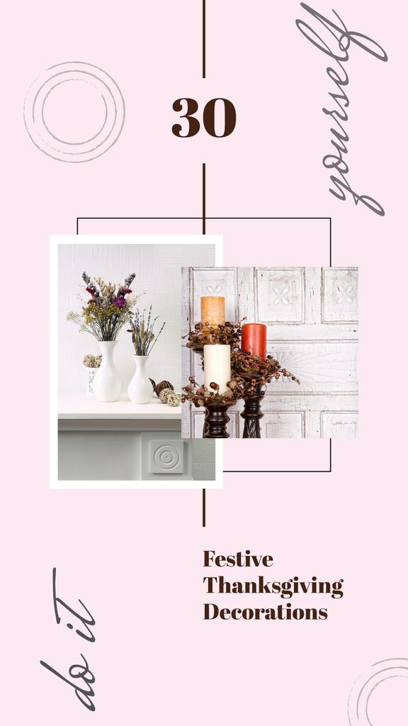 Vases and candles for home decor — Створити дизайн