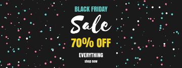 Black Friday Sale on flickering elements
