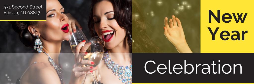 New Year celebration — Créer un visuel