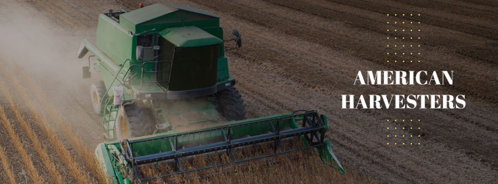 American Harvesters working in field — Create a Design