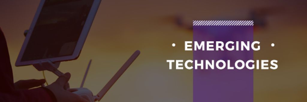 emerging technologies poster — Crea un design
