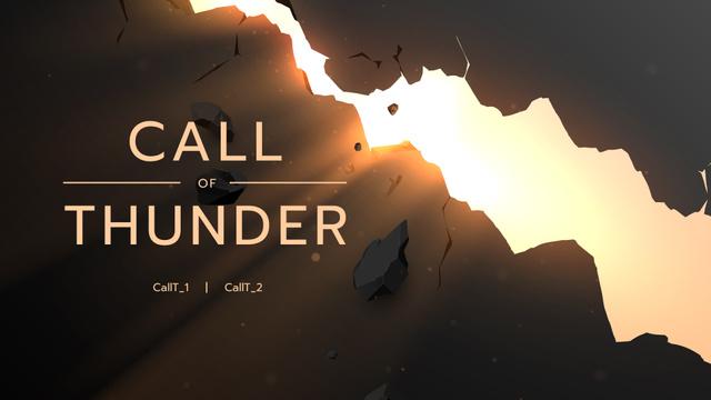Ontwerpsjabloon van Twitch Offline Banner van Illustration of Crack with Sunlight