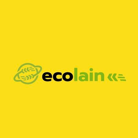 Eco Company Ad Earth with Ears Animated Logo Modelo de Design