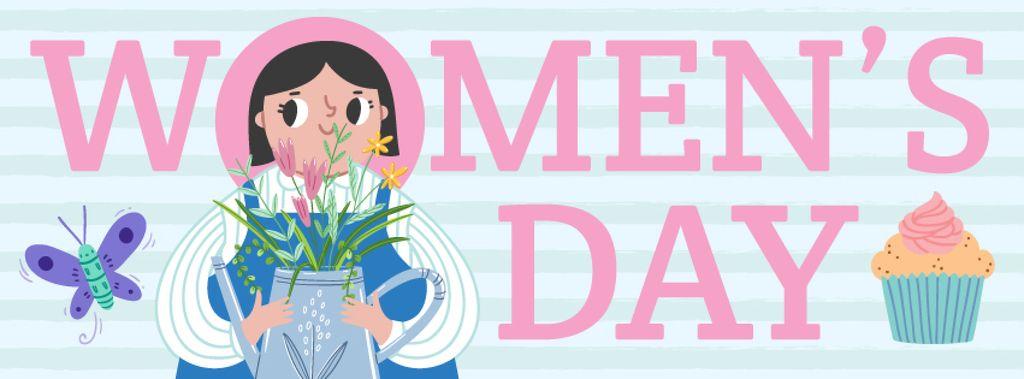 Women's day greeting card — Создать дизайн