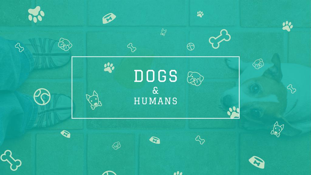 Dogs & Humans poster — ein Design erstellen