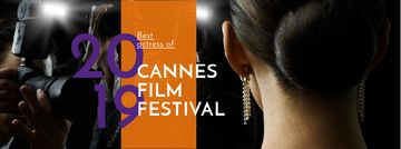 Cannes Film Festival Announcement with actress