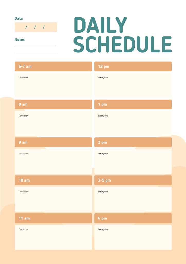 Daily schedule and to-do list — Create a Design
