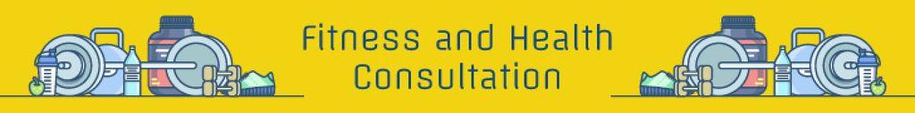Fitness and health consultation — Створити дизайн